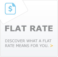Flat Rate: Discover what a flat rate means for you.