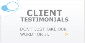 Client Testimonials: Don't just take our word for it.